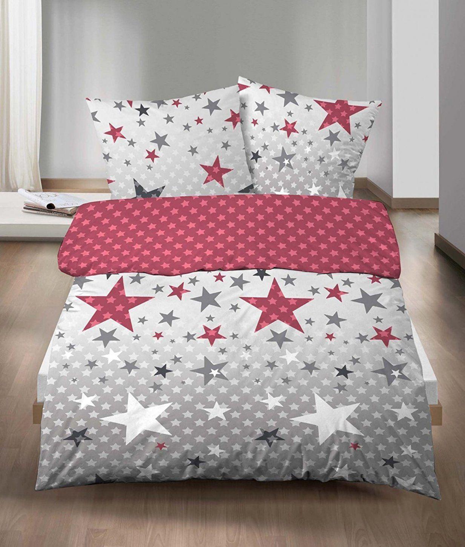Kreativ Feinbiber Bettwäsche Sterne Für Biberna Bettwäsche von Biber Bettwäsche Mit Sternen Bild