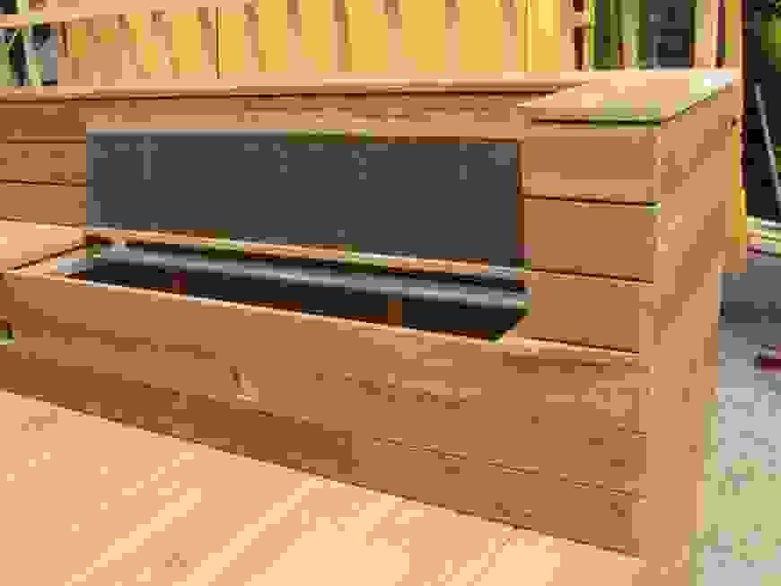 Kreativ Gartenbank Mit Blumenkasten Selber Bauen 06 48 59 Egenis Von von Holz Blumenkasten Selber Bauen Bild