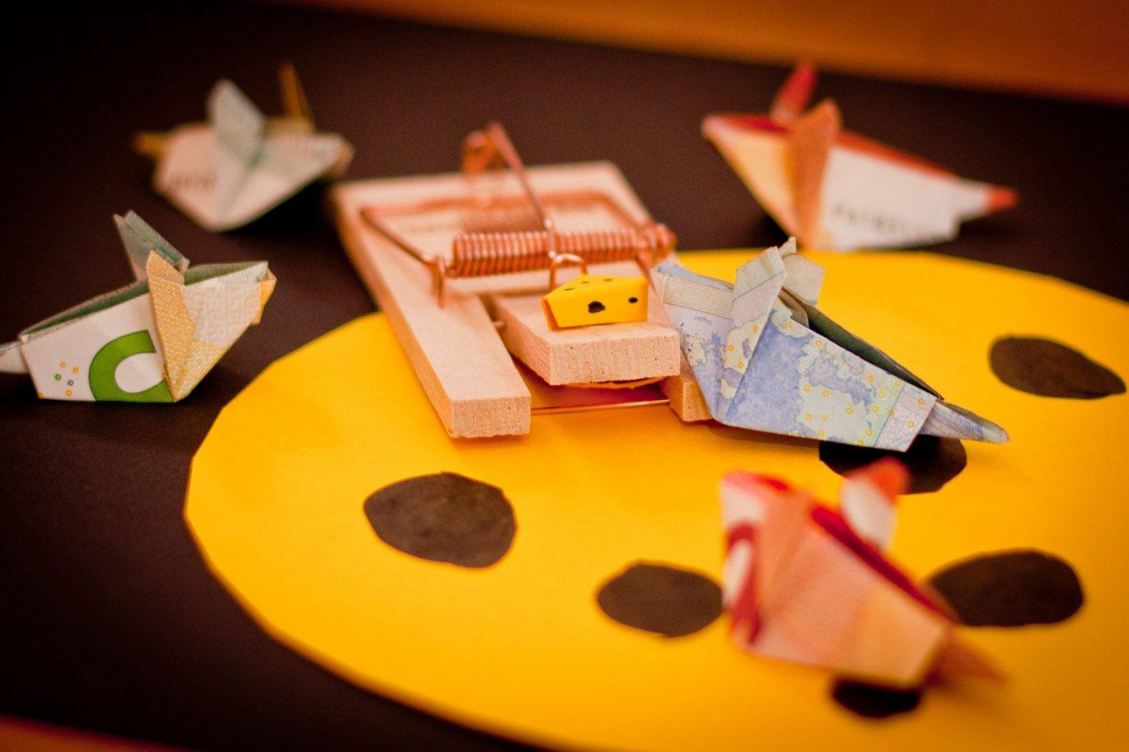 Kreatives Geldgeschenk Mäuse Verschenken  Unser Kreativblog von Maus Aus Geldschein Falten Photo