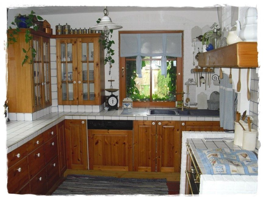 Küche Eiche Rustikal Vorher Nachher Mit Gemütliche Innenarchitektur von Küche Eiche Rustikal Streichen Bild