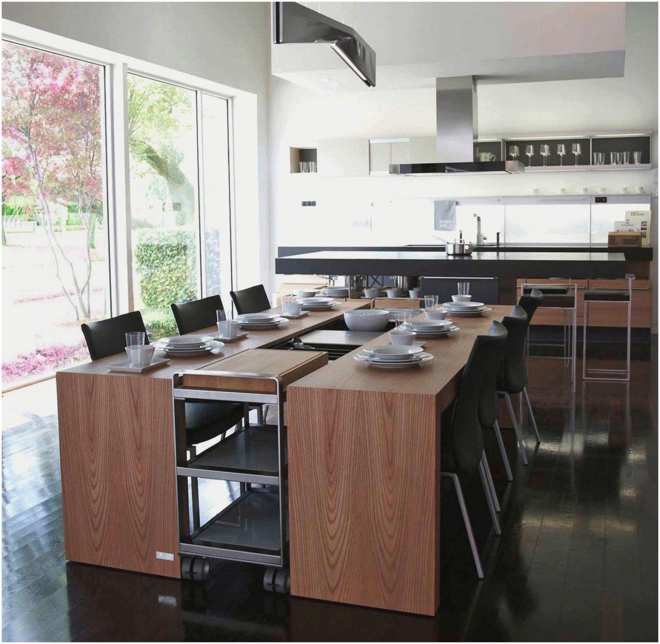 Küche Mit Kochinsel Und Tisch Luxury Kochinsel Mit Integriertem von Kochinsel Mit Integriertem Tisch Photo