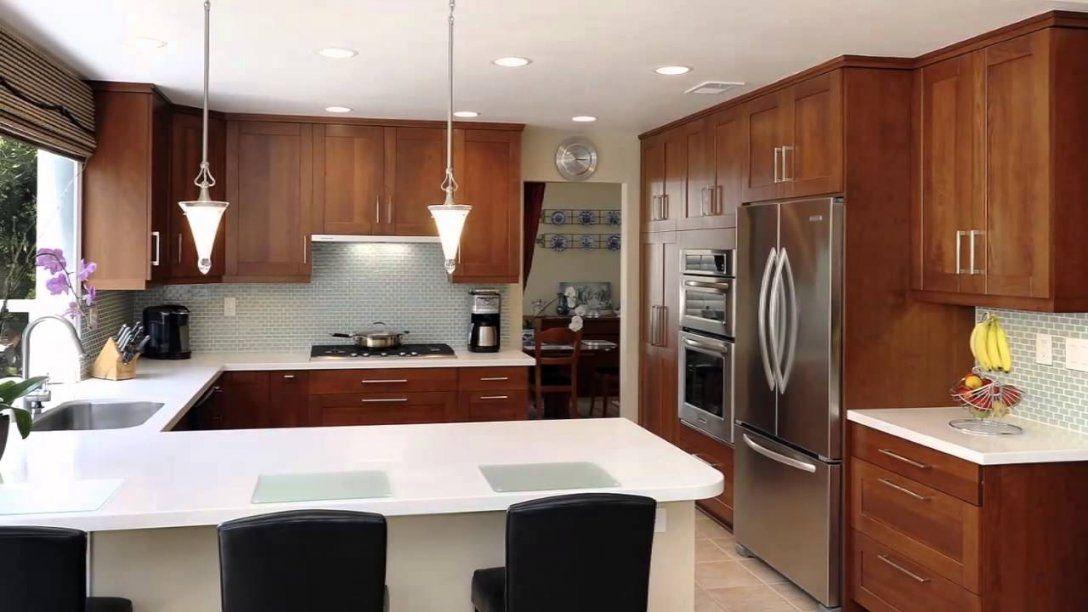 Küche Mit Theke  Youtube von Tresen Küche Selber Bauen Photo