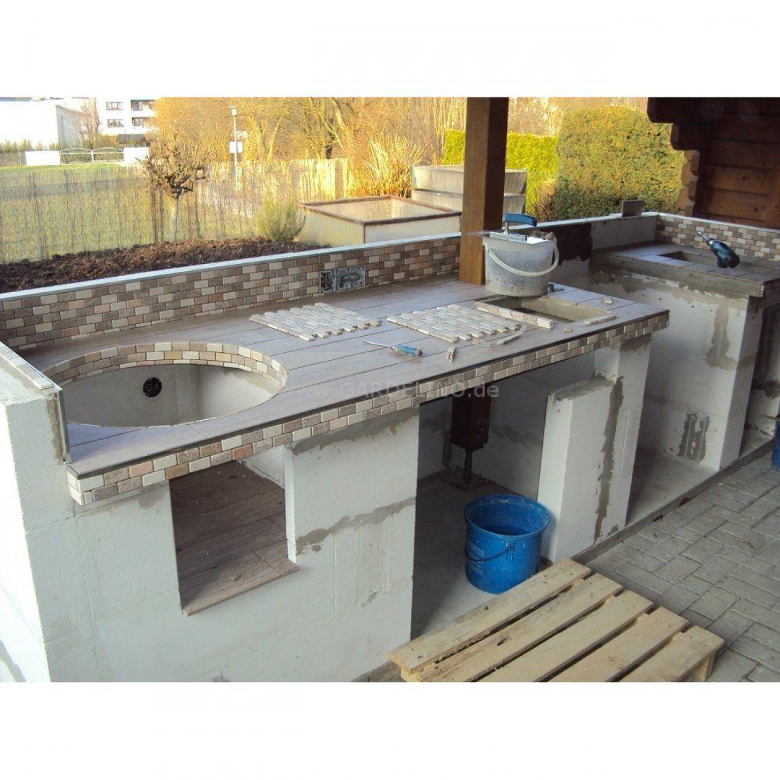 Kuche Selber Bauen von Outdoor Küche Selber Bauen Bild