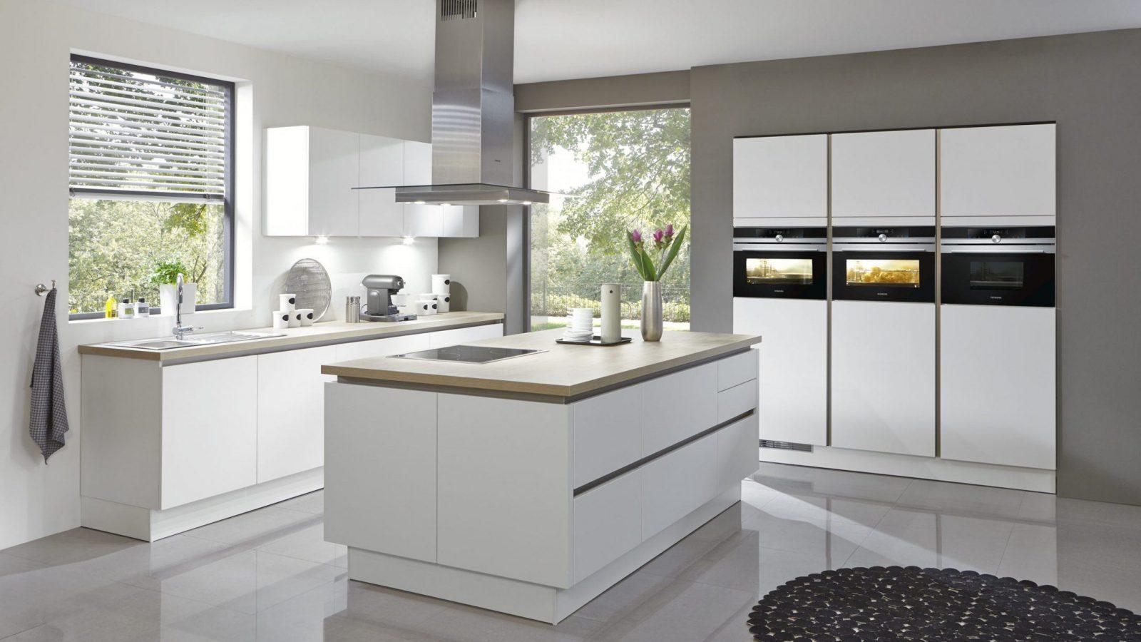 Küche Weiß Hochglanz Ohne Griffe Ikea von Ikea Küche Ohne Griffe Bild