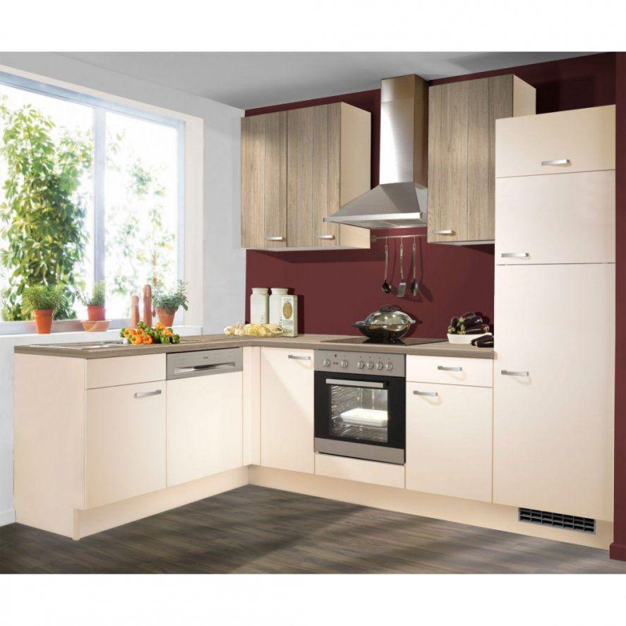 Kuchen L Form Grau Kuche Kuchenzeile Mit Elektrogeraten Gunstig von Küche L Form Günstig Kaufen Bild