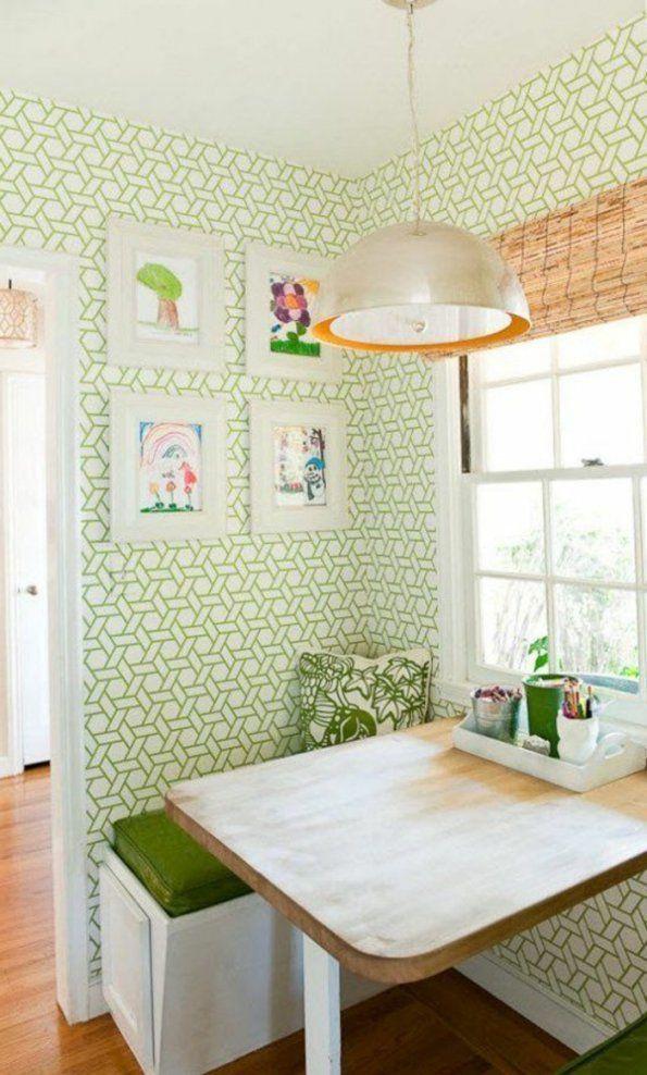 Küchen Tapeten Designs Für Jeden Geschmack  Archzine von Tapeten Für Küche Und Esszimmer Bild