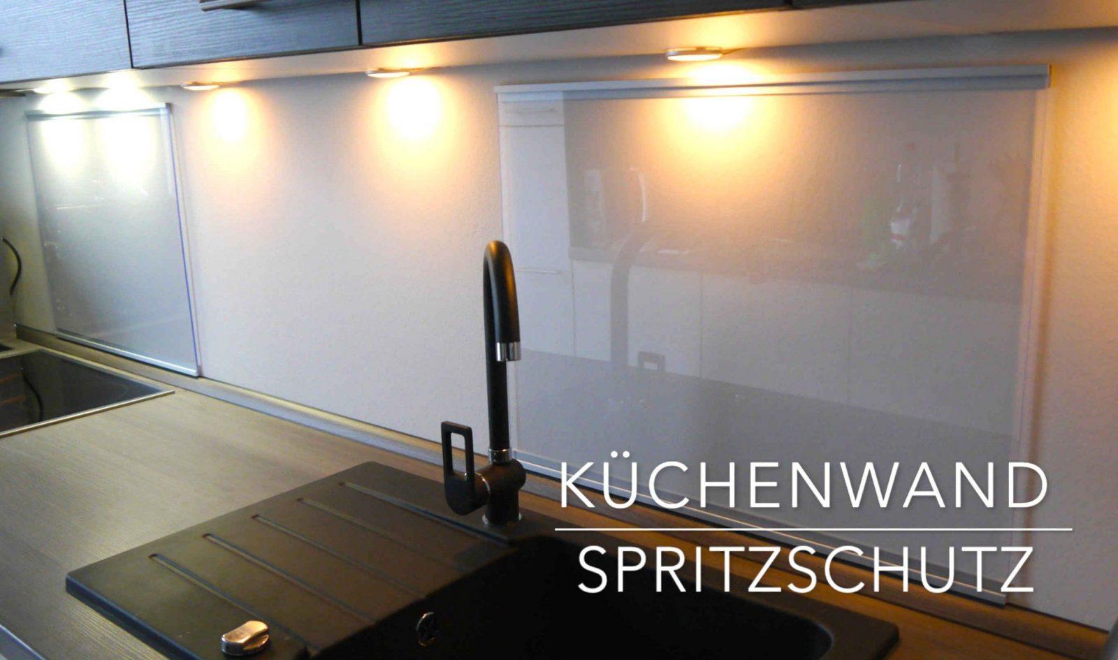 Küchen Wand Spritzschutz Aus Plexiglas Selber Bauen Anleitung Avec von Fenster Plexiglas Selber Bauen Bild