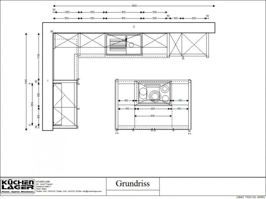 Küchenplanung Mit Insel Grundriss  Wotzc von Grundriss Küche Mit Kochinsel Photo