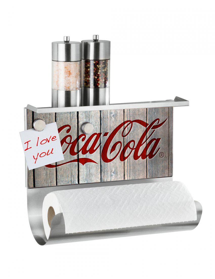 Küchenrollenhalter Coca Cola Wood von Coca Cola Bettwäsche Photo