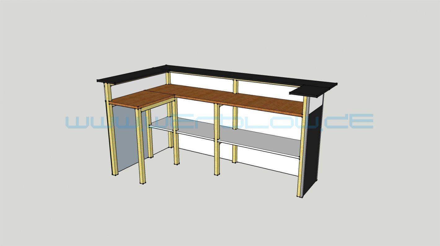 Impressive Design Theke Selber Bauen Holz 65 Pearlher von Tresen ...