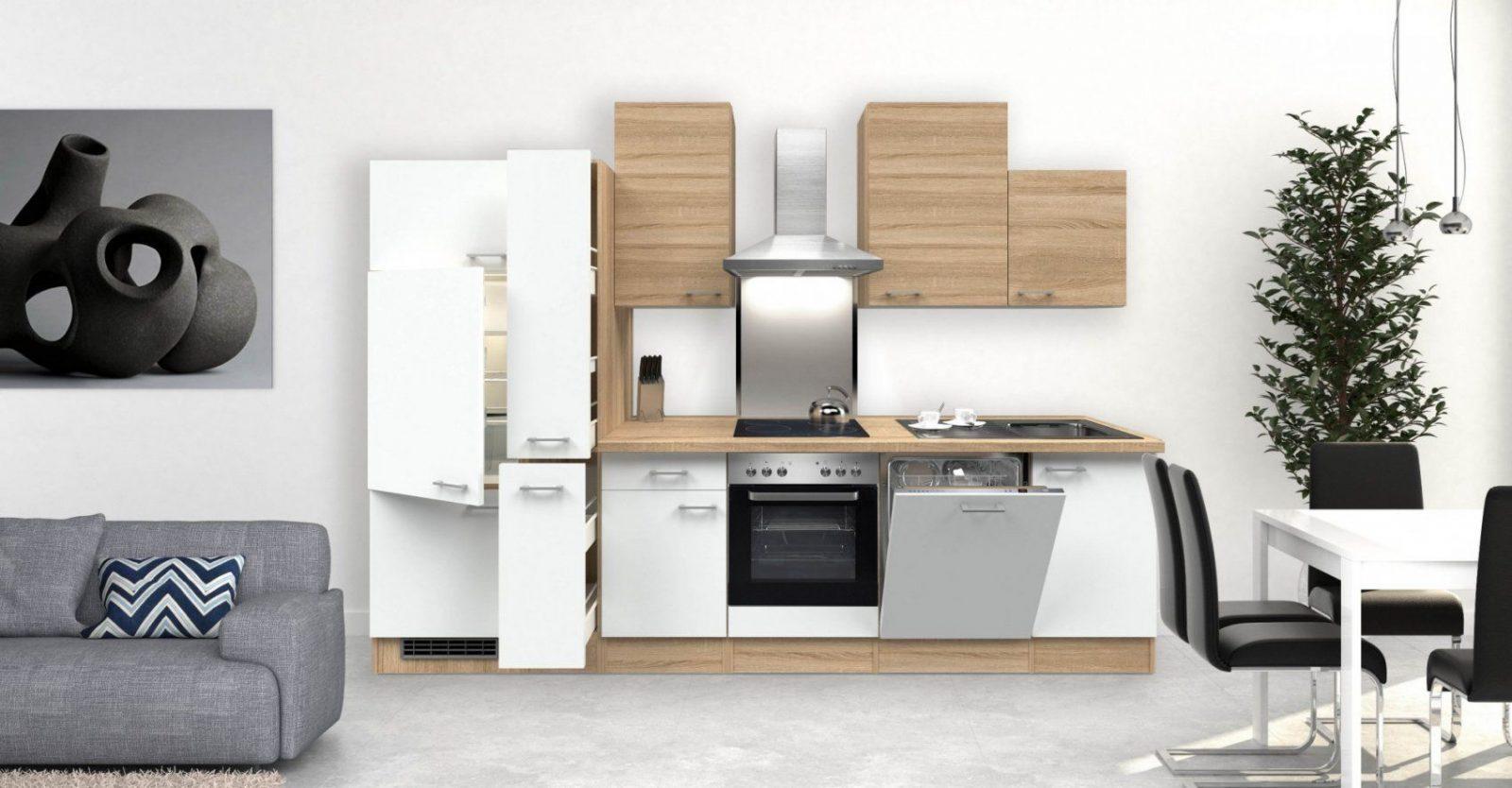 Küchenunterschrank Rom  1 Auszug 3 Schubladen  50 Cm Breit von Hochschrank Küche 50 Cm Breit Bild