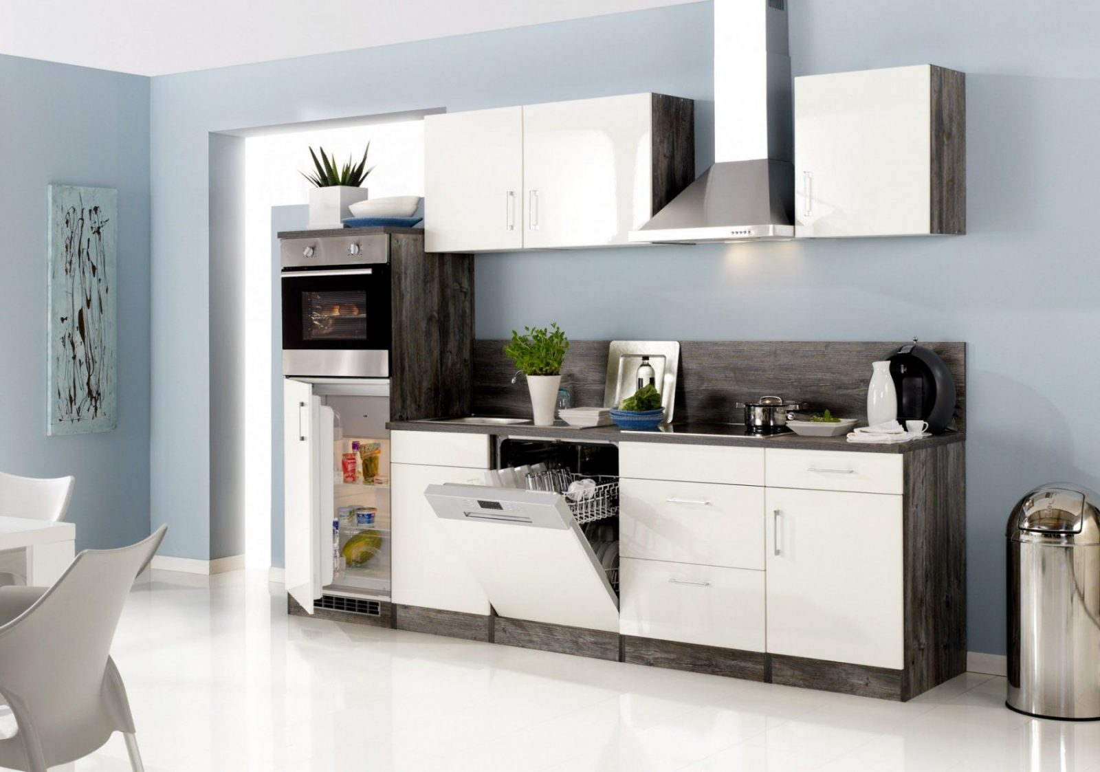 Küchenzeile Lissabon  Küche Mit Egeräten  Breite 280 Cm 15 von Küchenzeile 280 Cm Mit Elektrogeräten Günstig Bild