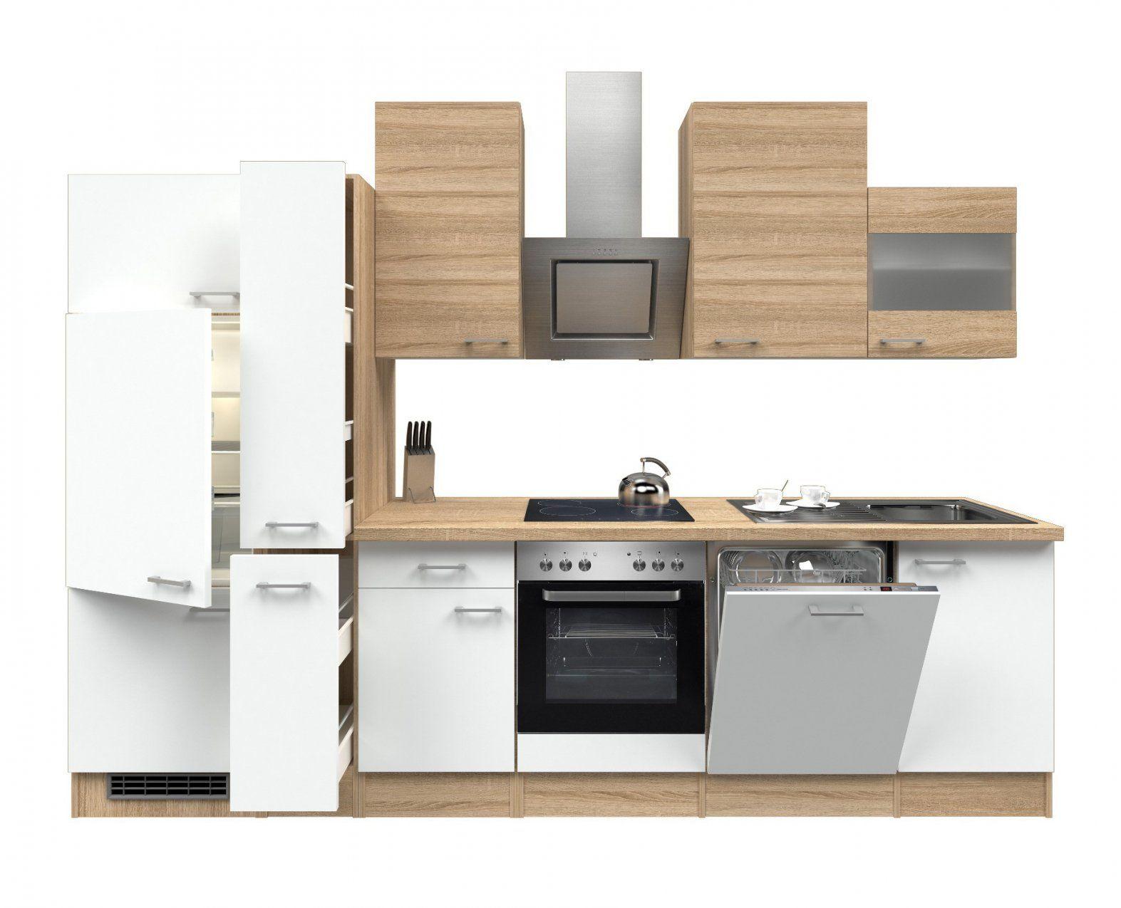 Küchenzeile Mit Elektrogeräten  Wotzc von Küchenblock 260 Cm Mit Elektrogeräten Bild