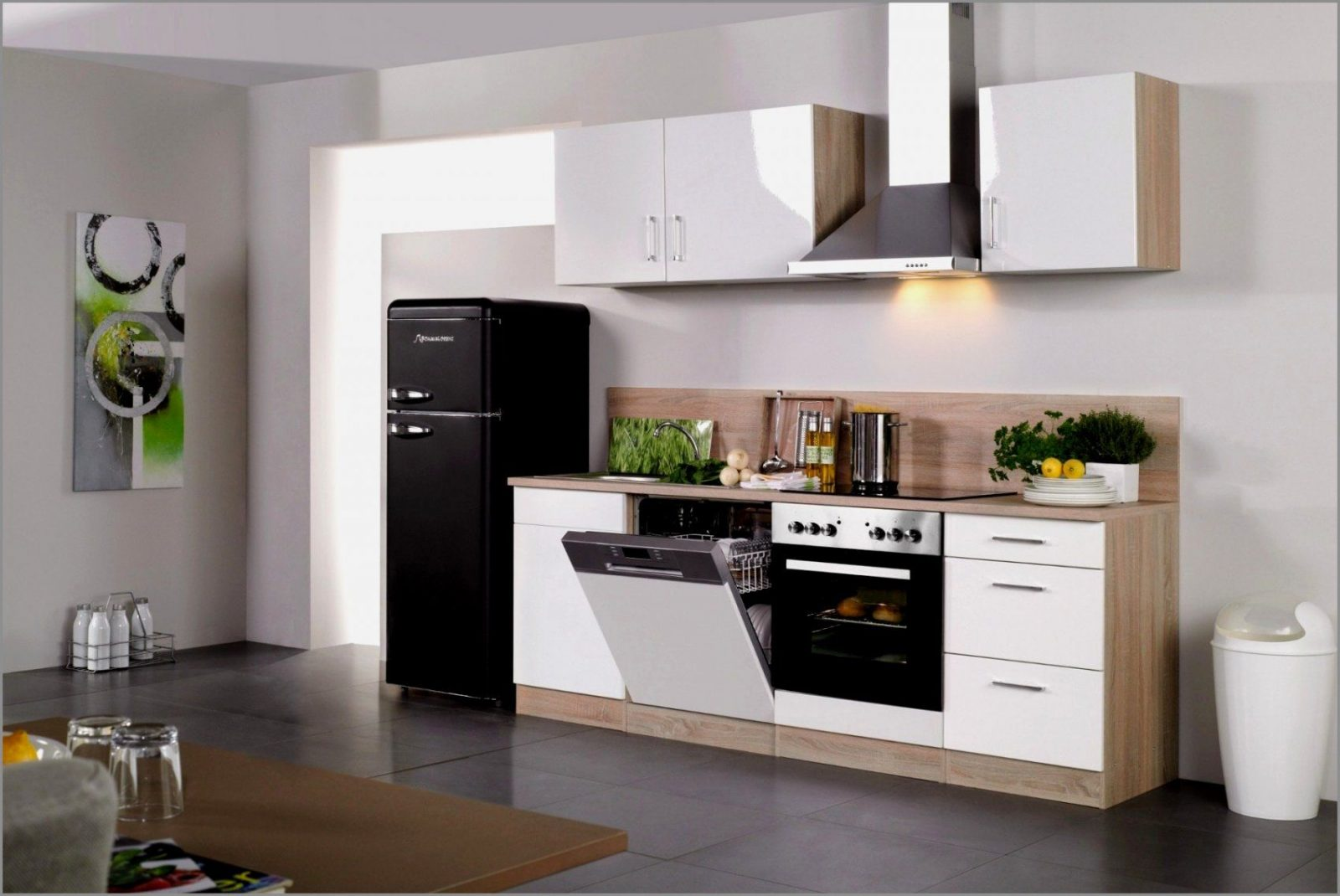 Küchenzeile Ohne Geröte Fresh Nett Gebrauchte Einbauküchen Mit von Küchenzeile Mit Elektrogeräten Ohne Kühlschrank Photo