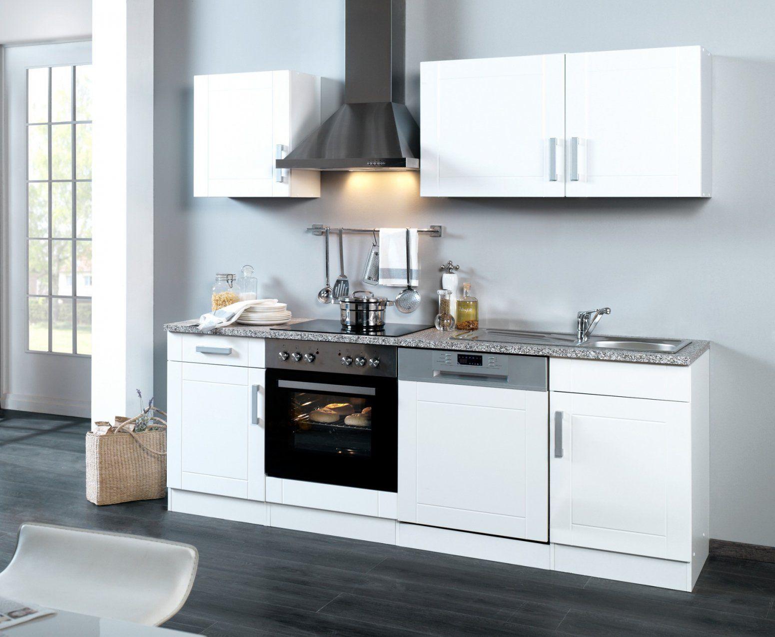 Küchenzeile Weiß  Uruenavilladellibro  Uruenavilladellibro von Küchenzeile 230 Cm Breit Bild