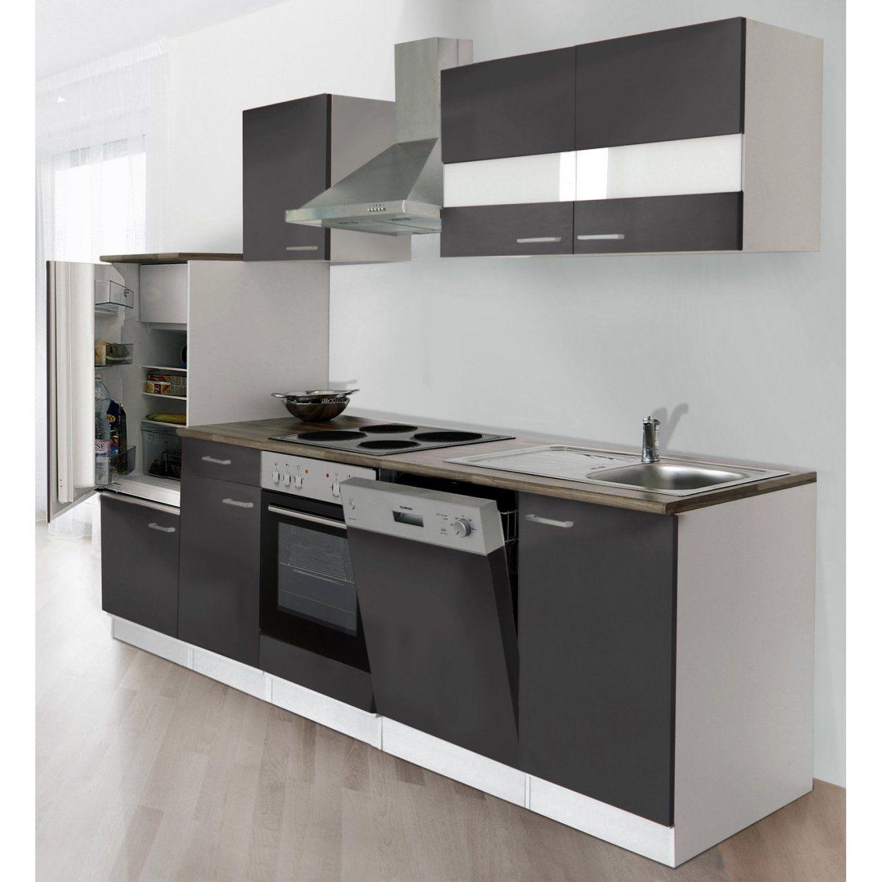Küchenzeilen & Miniküchen Günstig Online Kaufen Bei Obi von Küchenzeile 260 Cm Mit Elektrogeräten Photo