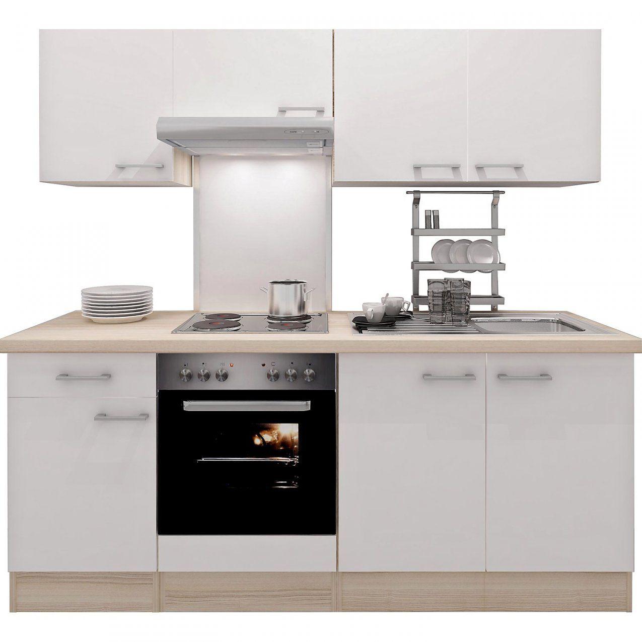 Küchenzeilen & Miniküchen Günstig Online Kaufen Bei Obi von Küchenzeile Mit Elektrogeräten Ohne Kühlschrank Photo