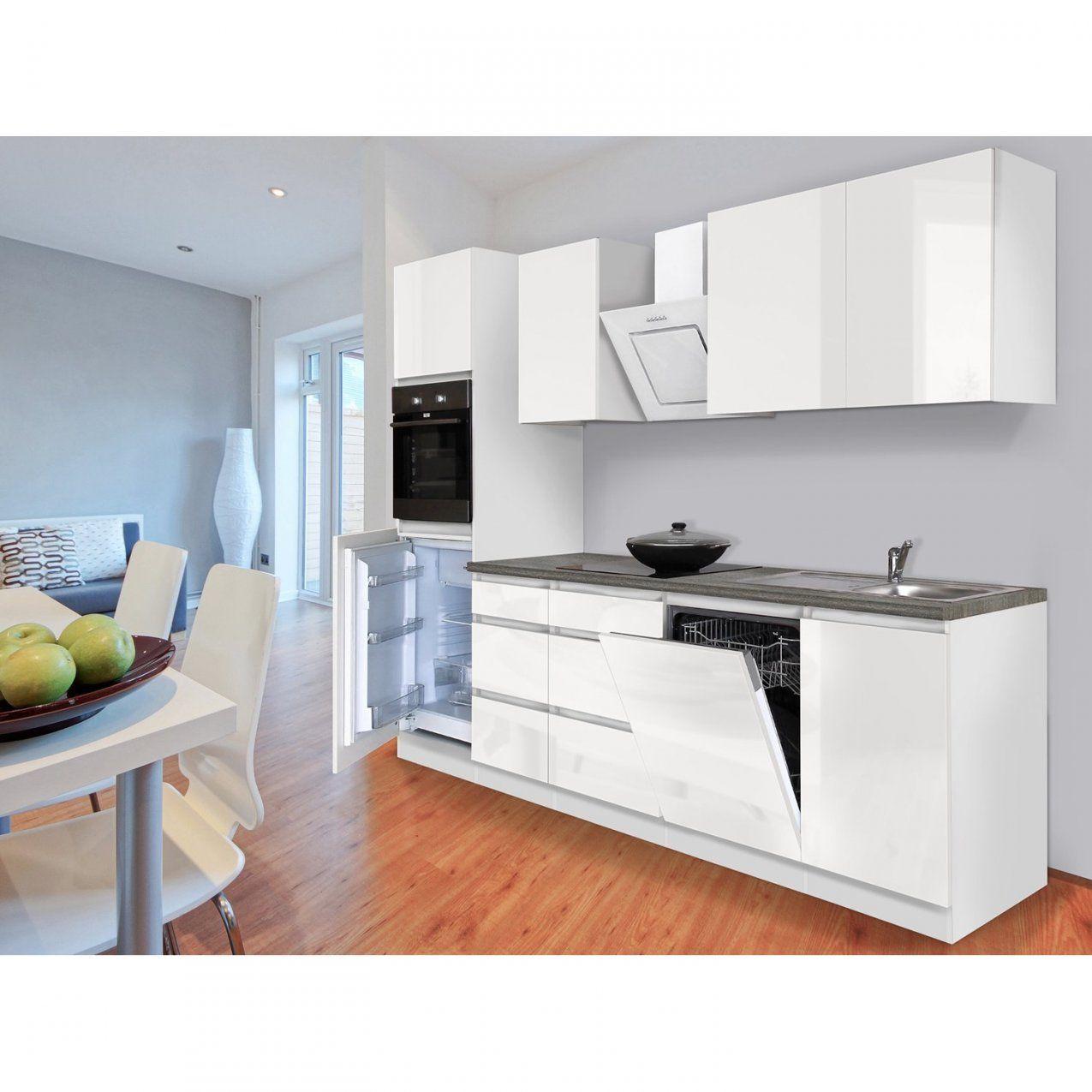 Küchenzeilen & Miniküchen Online Kaufen Bei Obi von Küchenzeile 260 Cm Mit Elektrogeräten Bild