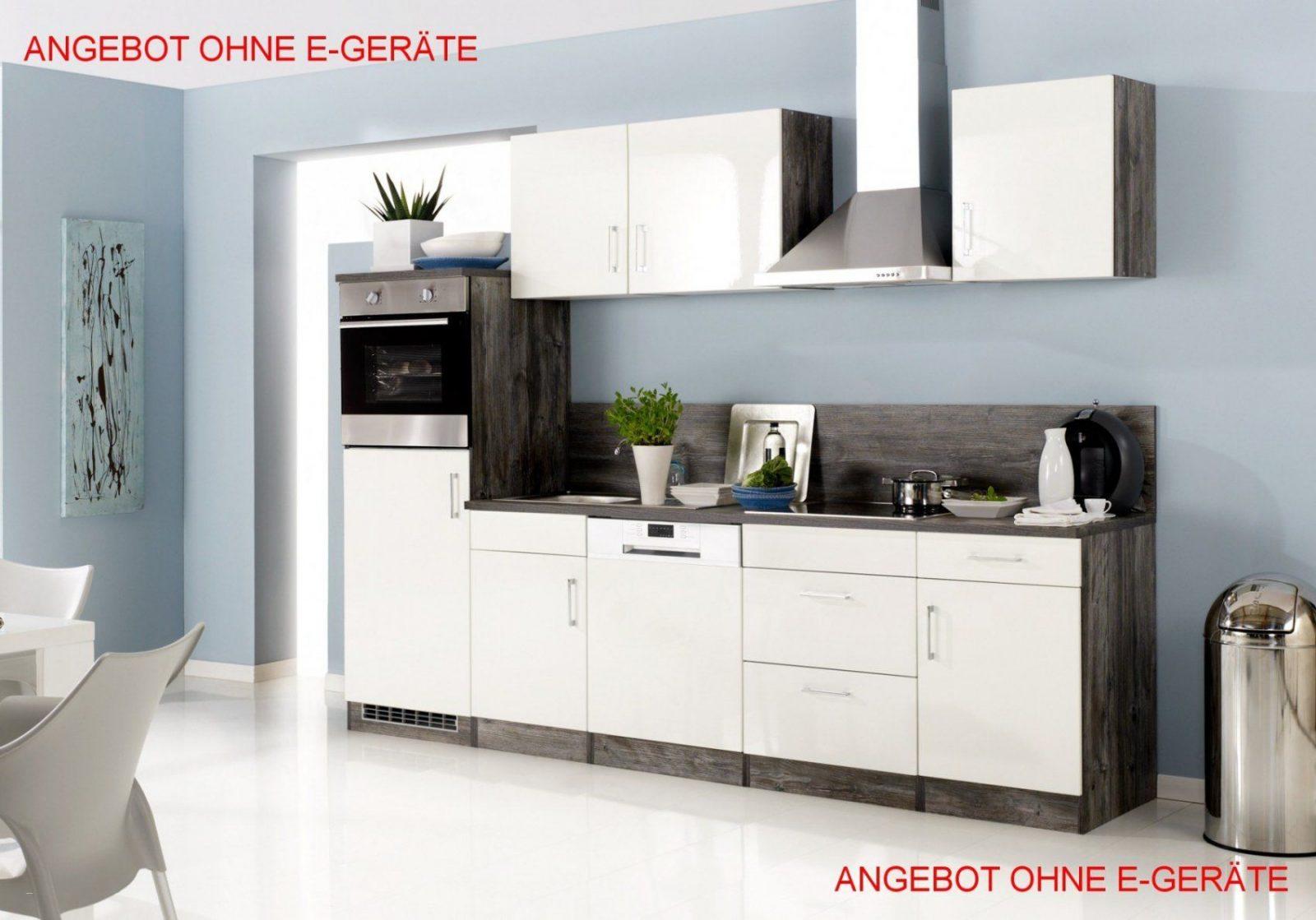 Kueche Mit Elektrogeraeten Guenstig Stilvoll Küchenzeile Ohne von Küchenzeile Mit Elektrogeräten Ohne Kühlschrank Bild