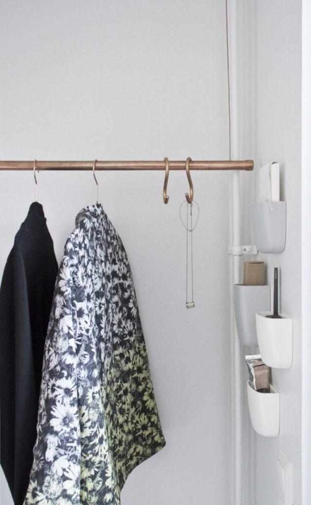 kleiderstange von der decke haus design ideen. Black Bedroom Furniture Sets. Home Design Ideas
