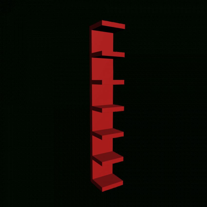 Lack Wandregal Rot  Einrichten & Planen In 3D von Ikea Lack Wandregal Weiß Bild