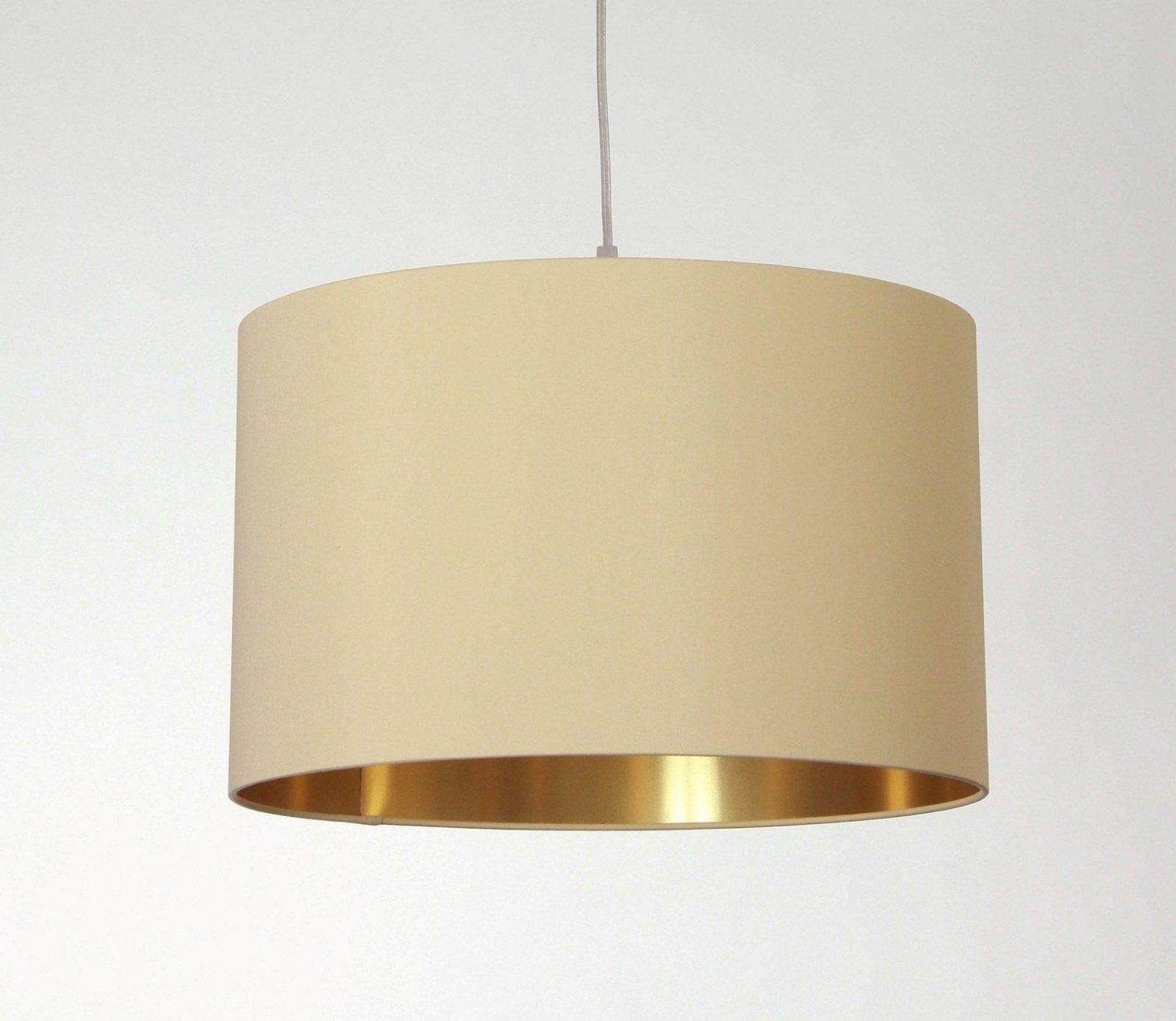Lampenschirm Innen Gold In Verschiedenen Größen (Durchmesser Und von Lampenschirme Für Stehlampen Kaufen Bild
