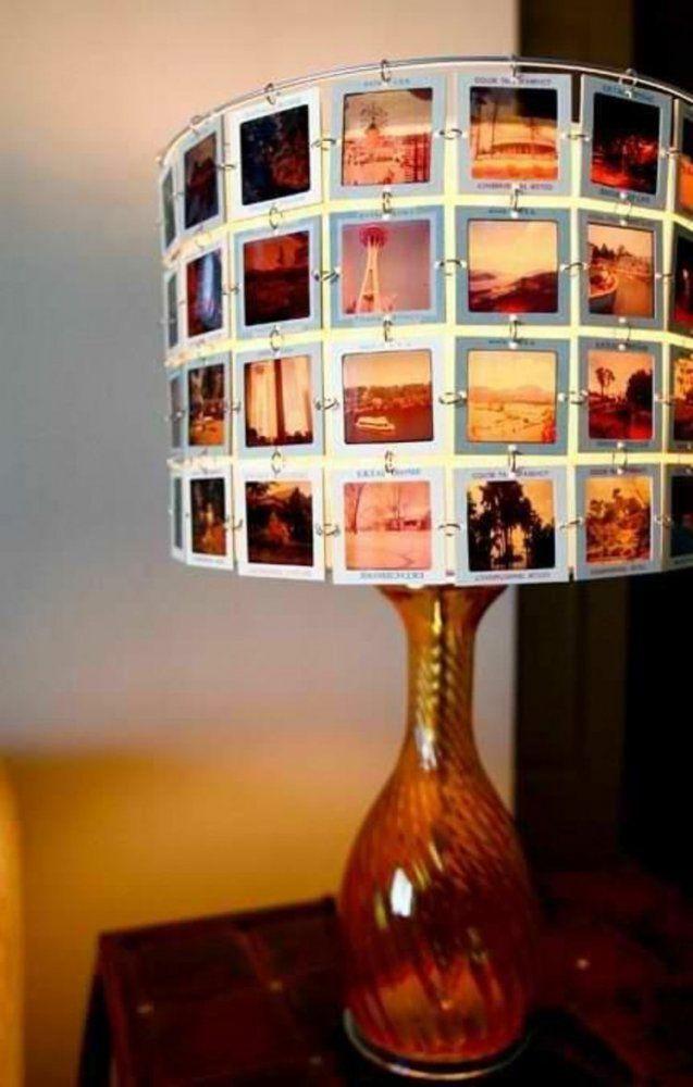 Lampenschirme Selber Machen Diy Lampenschirm Aus Negativfilm von Lampenschirm Selber Machen Material Photo