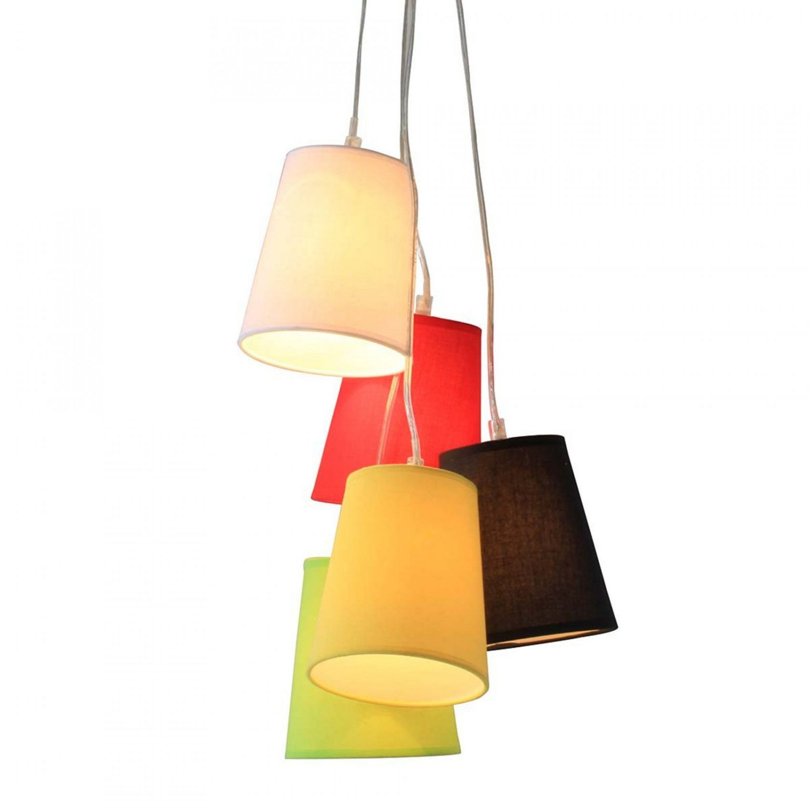 Lampenschirme  Warum Einer Wenn Sie Viele Haben Können von Lampe Mit Mehreren Schirmen Photo