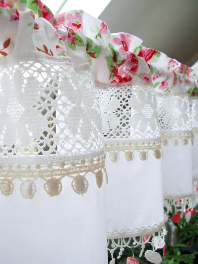 Landhaus Gardinen Küche Style Scheibengardinen von Shabby Chic Gardinen Selber Nähen Photo