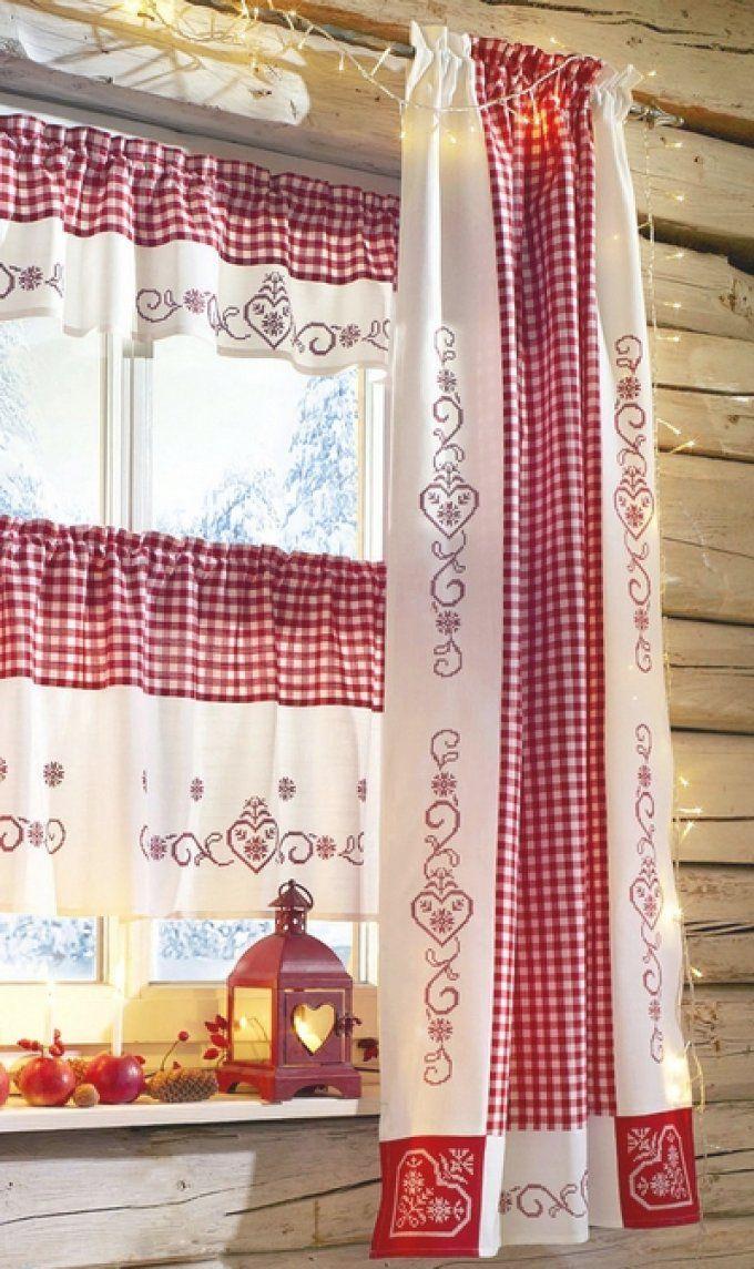 Landhaus Gardinen Rot Weis Kariert – Runabout von Landhaus Gardinen Rot Weiß Kariert Bild