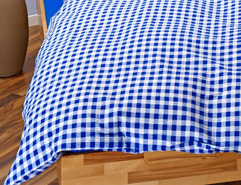 Landhausbettwäsche Blauweiss Kariert ⋆ Lehner Versand von Landhaus Bettwäsche Kariert Photo