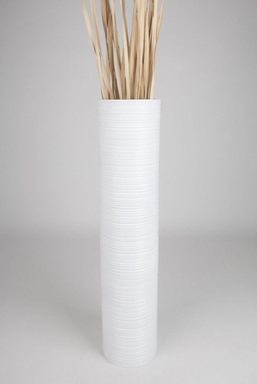 Large White Floor Vase Present Tall 90 Cm Mango Wood Co Uk – Sadef von Large White Floor Vase Photo