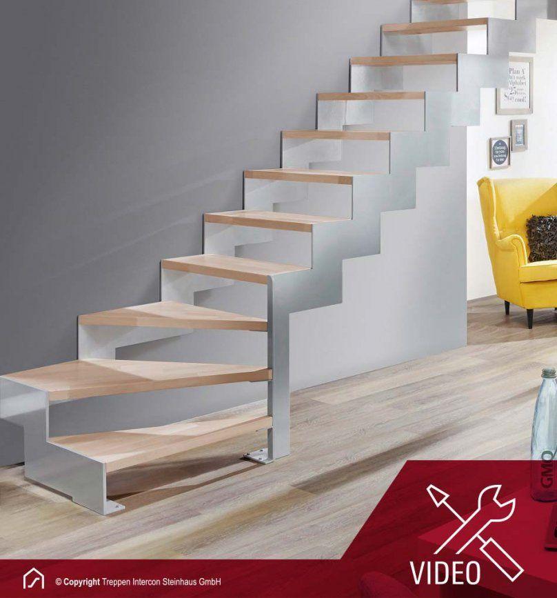 Lasergeschnittene Treppe Rio Viertelgewendelt  Wangentreppe von Treppe 1 4 Gewendelt Rechts Bild