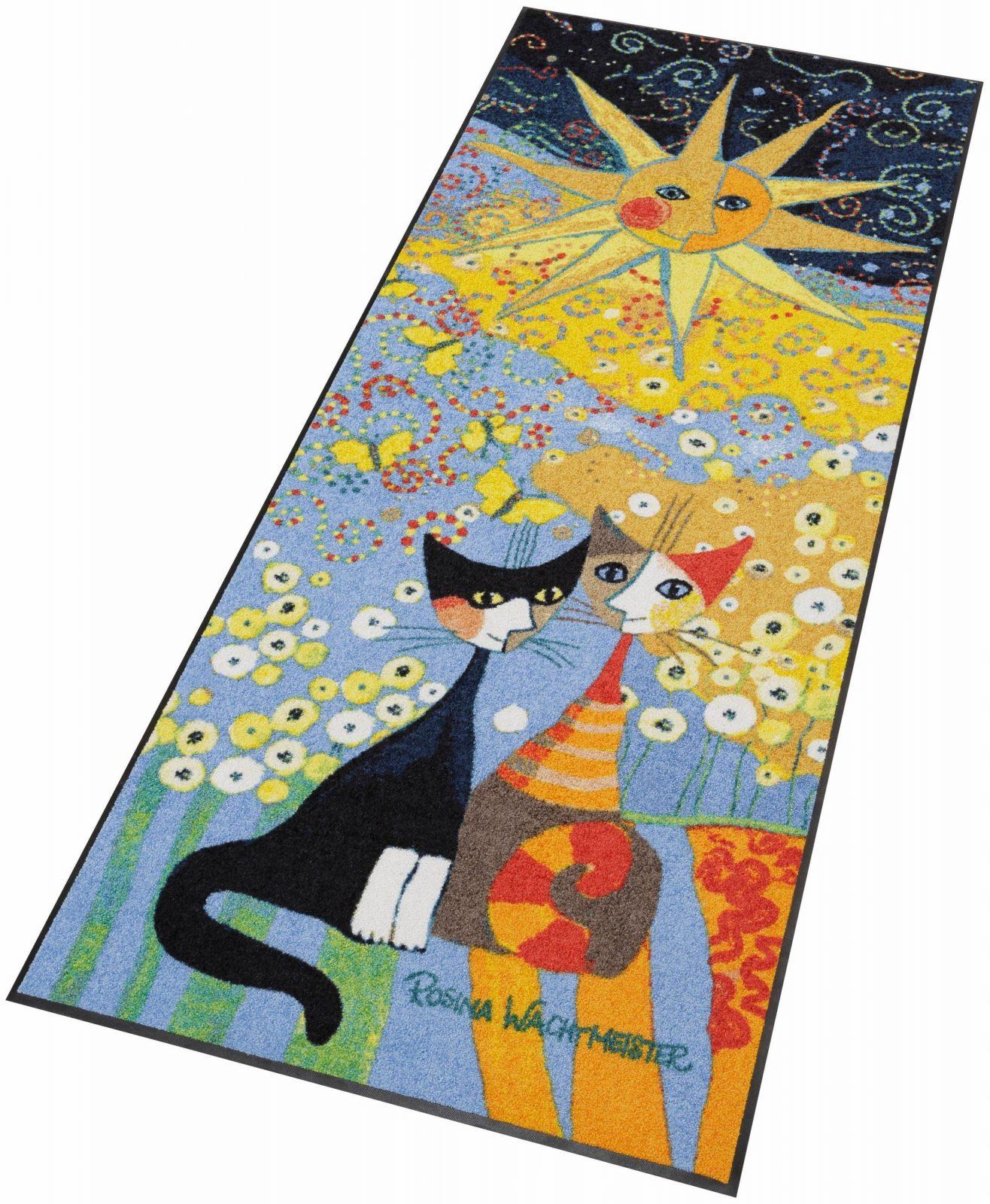 Läufer Katzen2 Rosina Wachtmeister Rechteckig Höhe 7 Mm Von Rosina