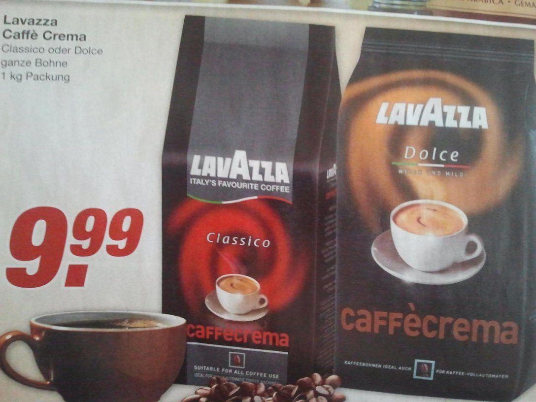 Lavazza Caffè Crema Classico Und Dolce 1Kg Bei Edeka Für Je 999 von Lavazza Crema Classico Angebot Bild