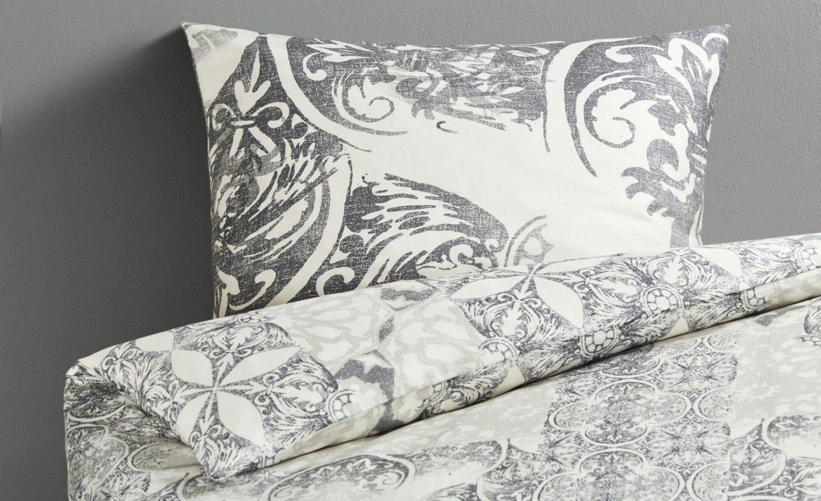 Lavida Satinbettwäsche Greek  Taupe  Bei Möbel Kraft Online Kaufen von Möbel Kraft Bettwäsche Bild