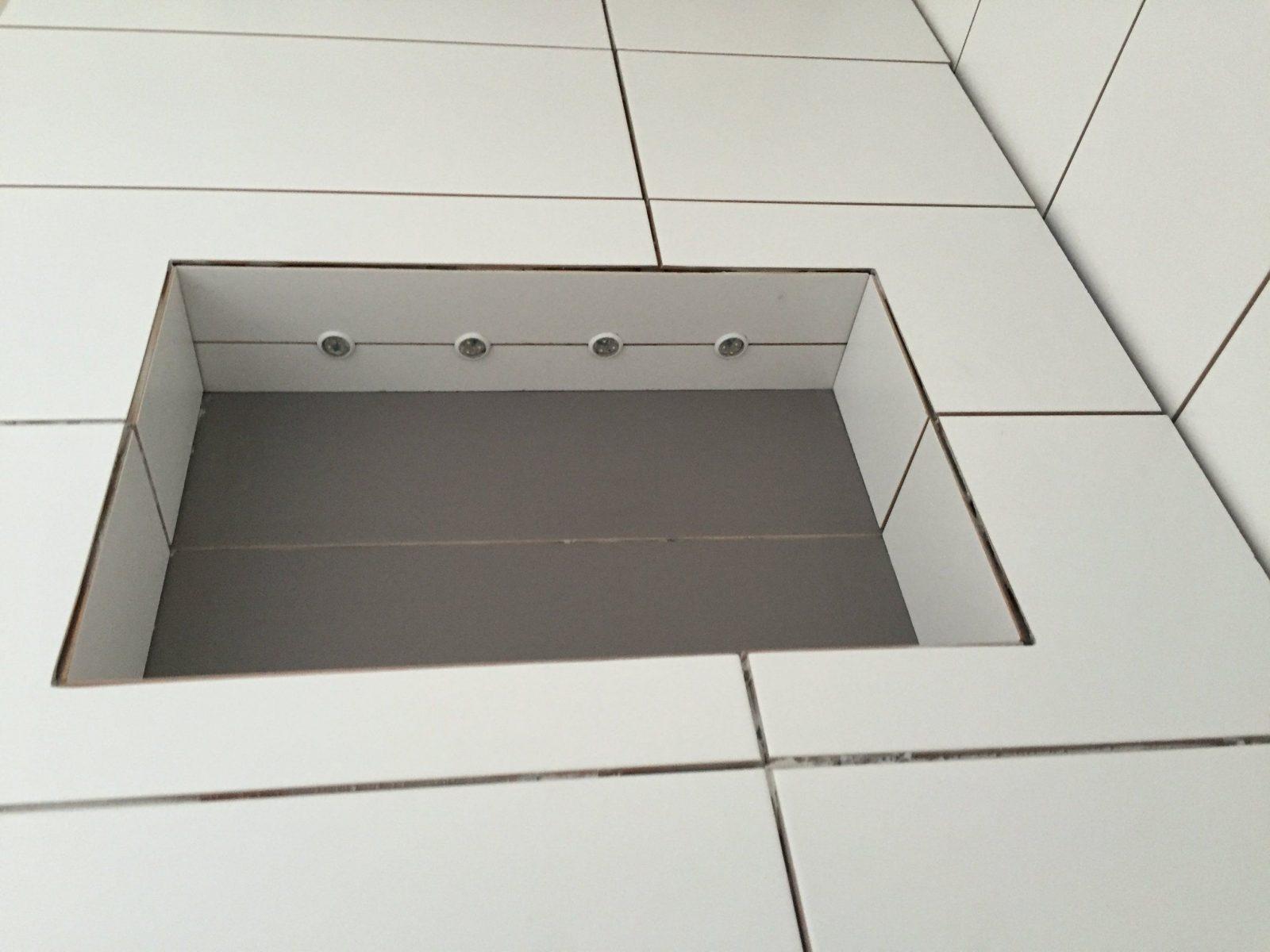 Led Beleuchtung Fliesen Verlegen Dusche Badezimmer Duschfach  Youtube von Ablage In Dusche Einbauen Photo