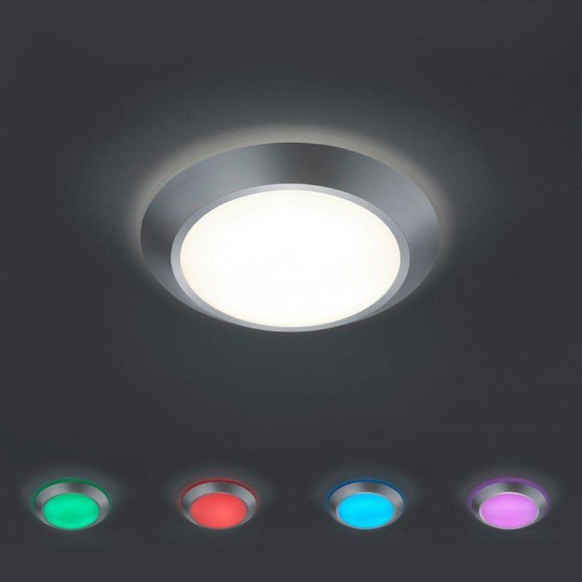Led Deckenleuchte Mit Rbg Farbwechsel  Dimmbar  Wohnlicht von Led Deckenleuchte Dimmbar Farbwechsel Bild