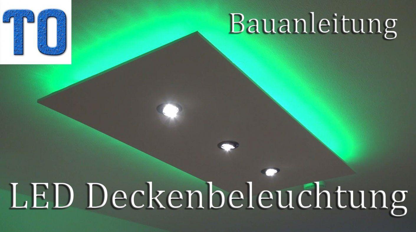 Led Deckenleuchte Selber Bauen  Direktes Und Indirektes Led Licht von Indirekte Beleuchtung Led Decke Selber Bauen Photo