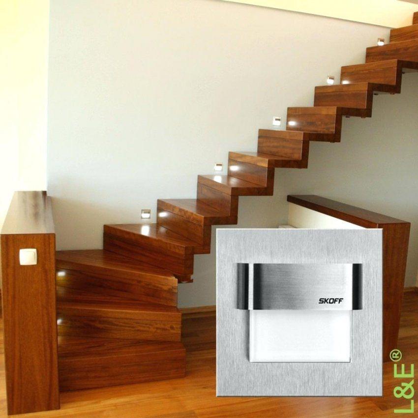 Led Treppenbeleuchtung Skoff Typ Tango Treppenleuchte Edelstahl von Led Treppenlicht Mit Bewegungsmelder Bild