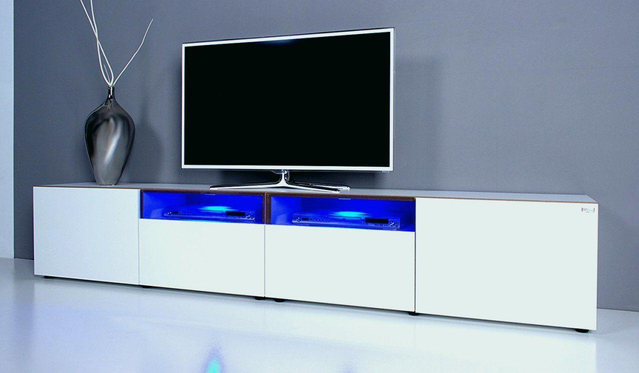 Tv Beleuchtung | Led Tv Beleuchtung Einzigartig Tv Lowboard Noomo Weiss Hochglanz Inkl