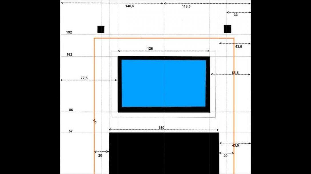 Led Tv Wand  Materialliste  Youtube von Tv Wand Selber Bauen Kosten Photo
