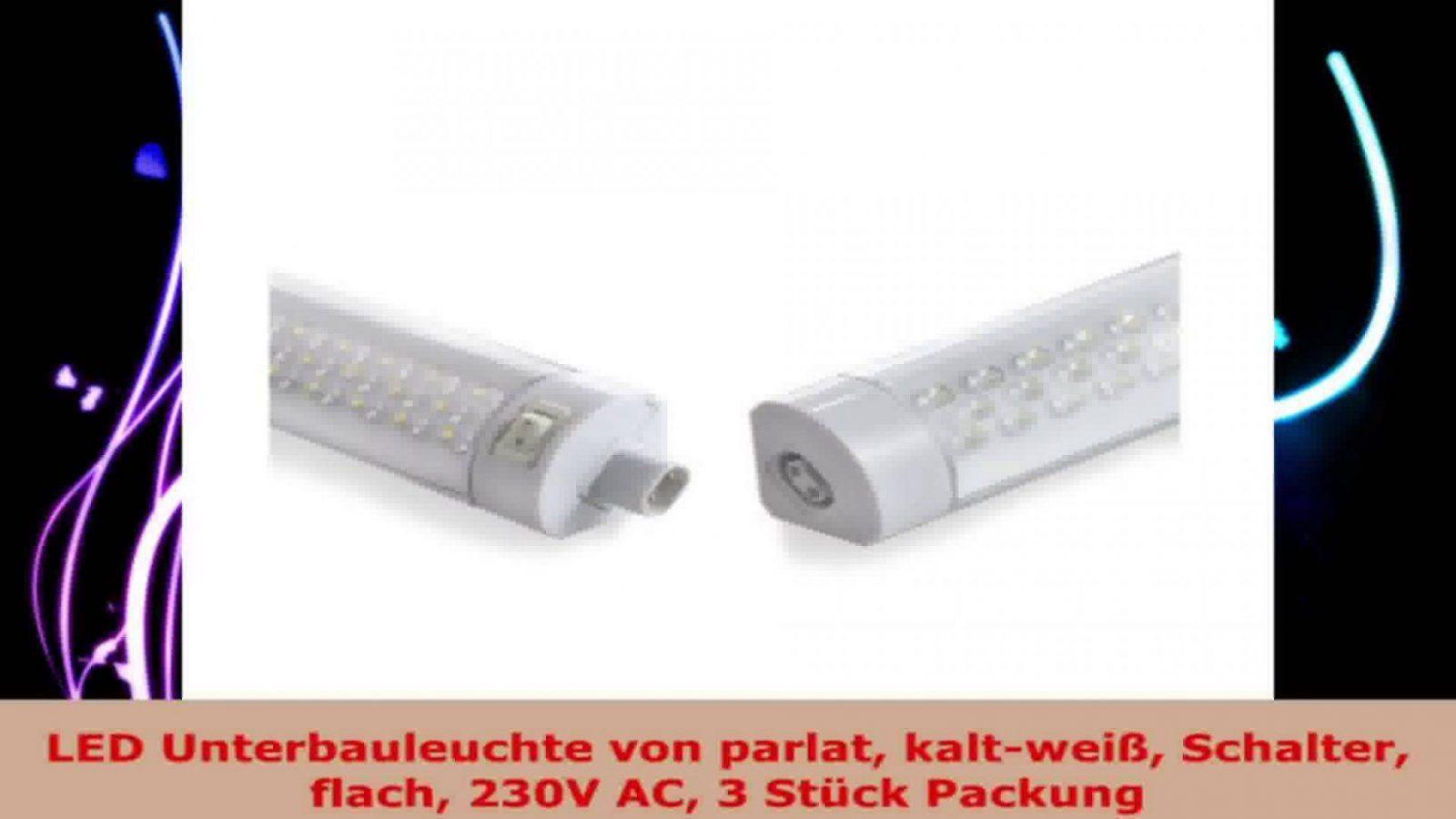 Led Unterbauleuchte Von Parlat Kaltweiß Schalter Flach 230V Ac 3 von Led Unterbauleuchte Küche 230V Bild