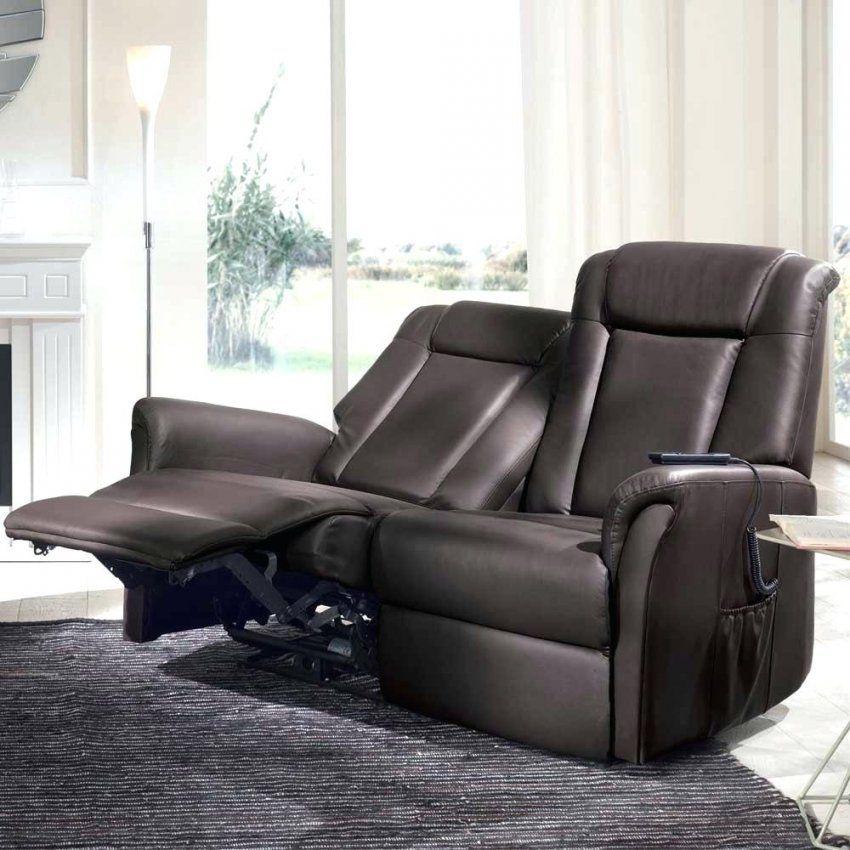 Ledersofa Mit Funktion 2 Sitzer Sofa Snoba In Braun Relaxfunktion von Ledersofa 2 Sitzer Braun Bild