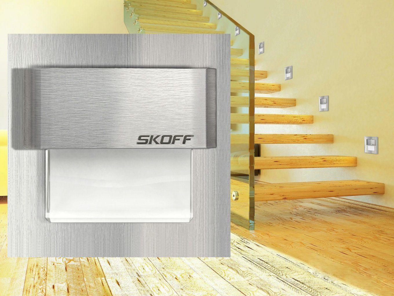 Ledwandeinbauleuchte Treppenlicht Ip66 Innen+Außen Edelstahl von Treppenlicht Mit Bewegungsmelder 230V Photo