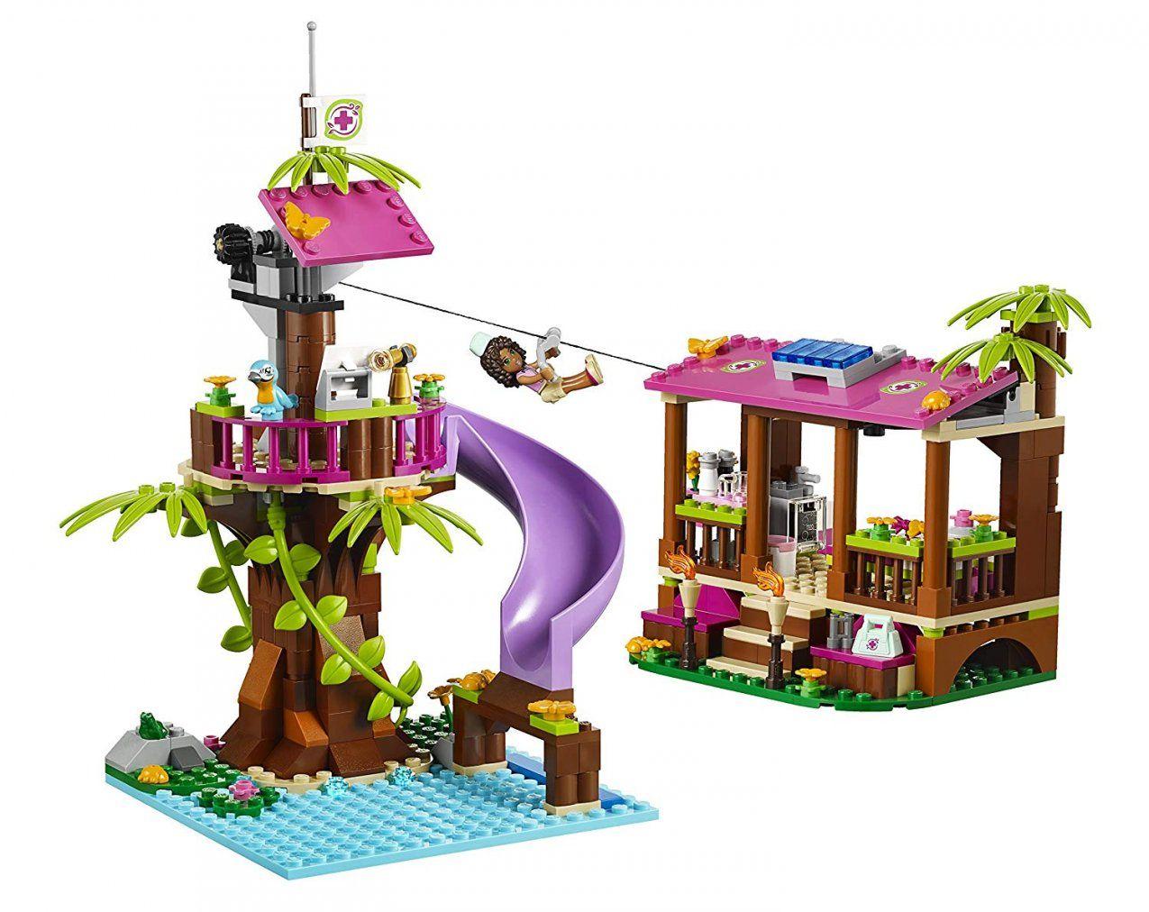 Lego Friends Jungle Rescue Base 41038 Building Setlego Friends von Lego Friends Bettwäsche Photo