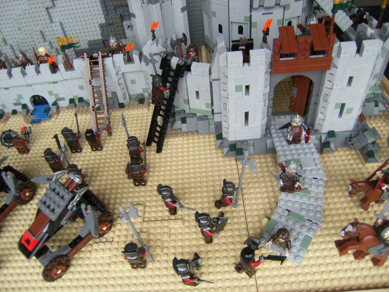 Lego Herr Der Ringe Dekoration von Herr Der Ringe Deko Photo