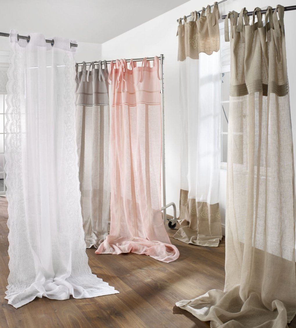 leinen gardinen wei leinen gardine weiss gebleicht versch gr en von leinen gardinen mit spitze. Black Bedroom Furniture Sets. Home Design Ideas