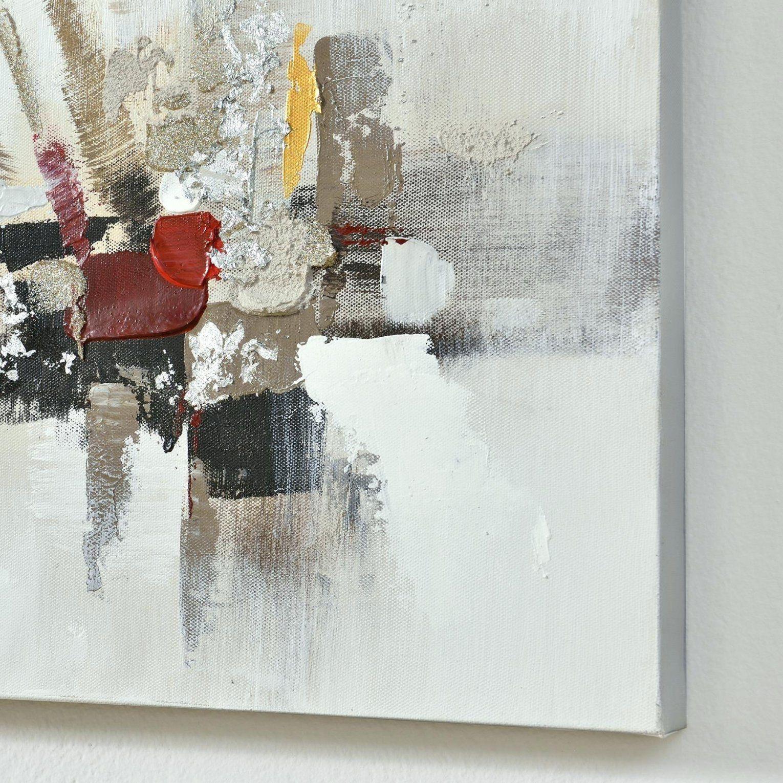 Leinwand Abstrakt Wandbild Art Work Handgemaltes Auf Inkl Keilrahmen von Bilder Leinwand Abstrakt Keilrahmen Photo
