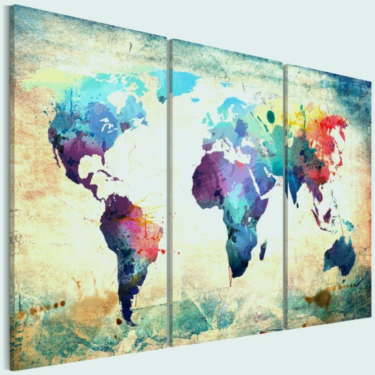 Leinwand Collage Selbst Gestalten Elegant Innenarchitektur Collagen ...